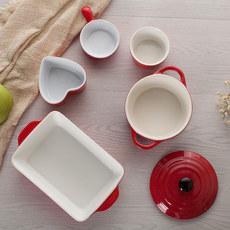 陶瓷烘焙套装焗饭盘烤盘烤碗模具蒸蛋糕烤箱碗盘碟组合微波炉家用