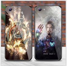 苹果6s手机壳男漫威i6玻璃套复联4博士iphone6plus黑豹潮女钢铁侠5s全包六个性6splus保护套