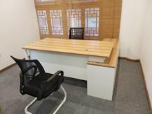 商业办公家具老板办公桌写字台单人位大班台主管电脑桌椅组合钢制