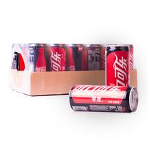 可口可乐 零度无糖可乐330ml*24罐 整箱 无糖汽水 碳酸饮料