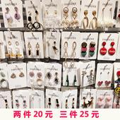韩国秋冬新款个性气质时尚几何不规则少女超仙多款耳环耳钉耳饰女