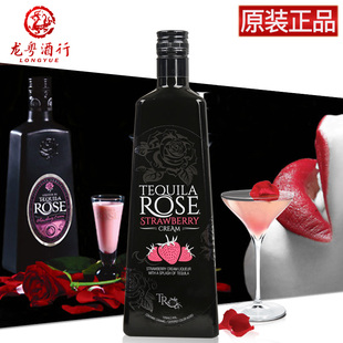洋酒Tequila Rose Strawberry特奇拉玫瑰草莓味利口酒力娇酒