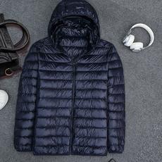 秋冬新品轻薄羽绒服女短款胖MM加肥加大码250到350斤大码宽松外套
