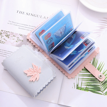 Card Pack Women Multi-Card Position Korean Lovely Small Fresh Maple Leaf Card Jacket Simple Mini Card Pack