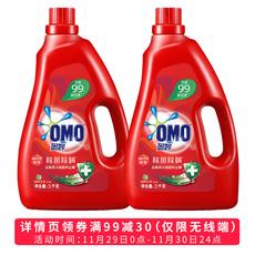 奥妙洗衣液 除菌除螨  源自天然酵素 3KG+3KG家庭装
