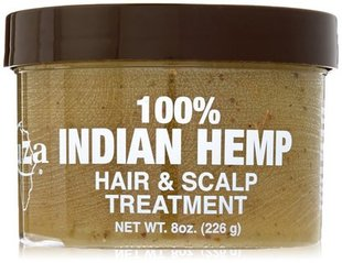 美国KUZA Indian Hemp Hair and Scalp Treatment 8 oz
