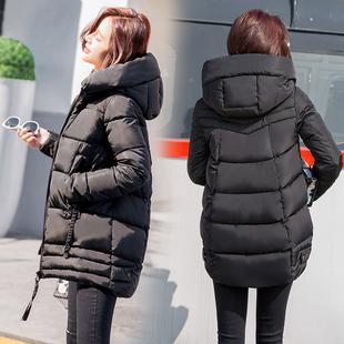 棉服女加厚中长款韩版2018新款面包服