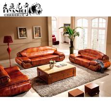 特价 欧式真皮沙发 厚皮客厅组合皮艺沙发 头层牛皮真皮沙发包邮