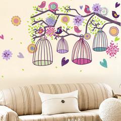 电视墙墙贴 波西米亚花树 客厅卧室餐厅浴室沙发背景墙面