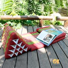 象标 泰国三角靠垫 加高15棒榻榻米飘窗垫 窗台睡垫 沙发地垫
