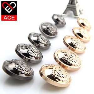 ACE金属扣子圆形纽扣风衣西装毛呢大衣外套男女衣服钮扣大衣纽扣
