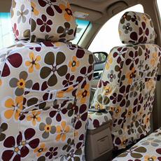 汽车座套新款专车专用定做布艺捷达夏季棉布四季通用全包围坐垫女