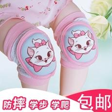 夏季儿童防摔护膝薄款 宝宝婴儿加厚爬行学步护膝套幼儿护肘透气