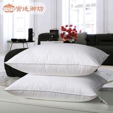 出口五星级酒店鹅羽枕羽绒枕头护颈保健枕芯正品专柜枕头单只装