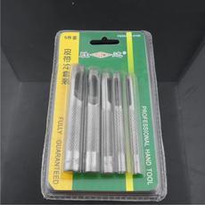 胜达工具 5件套皮带冲子 专用打孔器 打洞器 皮革开孔器