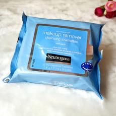 现货美国正品Neutrogena露得清卸妆棉洁面纸巾深层清洁无残留正品