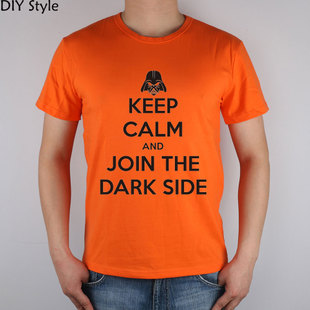 keep calm and join the dark side 保持安静 星球大战 T恤