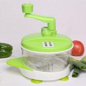 多功能切菜器碎菜器手动绞肉机饺子馅机家用绞菜机蒜泥器厨房用品