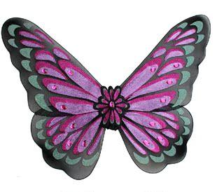 超大蝴蝶翅膀成人演出服装表演装扮天使带钻网纱蝴蝶翅膀道具儿童