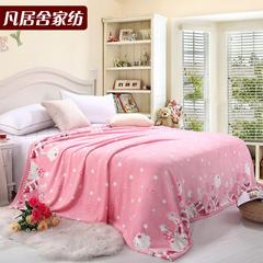 凡居舍 法兰绒 春秋毯 床单 毯子 休闲毯 空调毯 毛毯 珊瑚绒毯