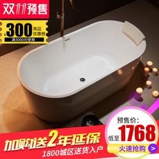 科泽浴缸独立式家用成人卫生间亚克力欧式大浴缸情侣浴盆浴池