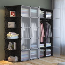 简易衣柜经济型省空间柜子组装塑料衣橱简约现代宿舍出租屋小衣橱