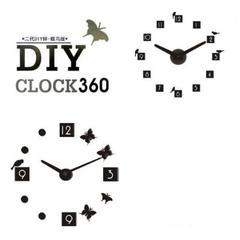 创意 挂钟 DIY 时钟 数字 钟表 家居装饰时钟 客厅 欧式 石英钟