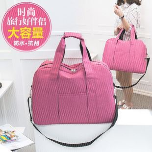 韩版潮超大容量旅行包行李袋短途女手提运动健身折叠男士旅游出差