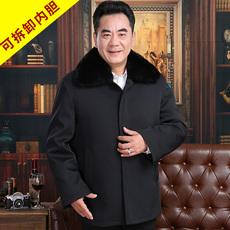 中老年人棉衣加厚男士冬装外套50岁老年男装60爸爸装70爷爷羽绒服