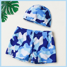 Children's Swimming Suit, Swimming Trousers, Boys'Swimming Suit, Boys' Split Swimming Suit, Children's Beach Hot Spring Swimming Equipment