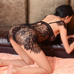 性感透视情趣内衣服激情套装小胸夜火骚挑逗用品女大码吊带睡衣XZ