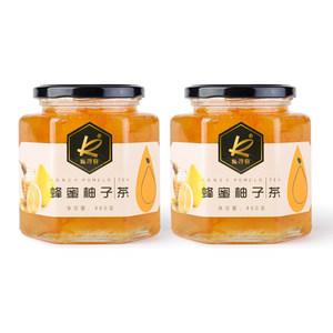 凯司令冲饮果汁蜂蜜柚子茶460g/罐*2蜂蜜柚子饮料
