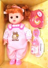 包邮洋娃娃 女孩 仿真娃娃眨眼说话女童宝宝公主套装生日礼盒玩具