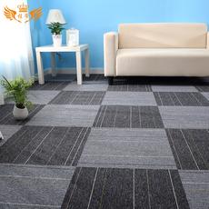 方块地毯写字楼卧室商用pvc满铺拼接拍照办公室地毯可安装50*50cm