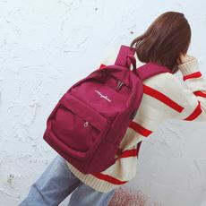 书包女韩版原宿ulzzang 高中学生校园15.6寸电脑包双肩包大容量女