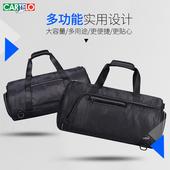 卡帝乐鳄鱼男士圆筒斜挎包韩版运动包休闲旅行包手提包单肩男包潮