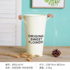 现代简约干花花桶装饰品摆件花店客厅房间鲜花桶