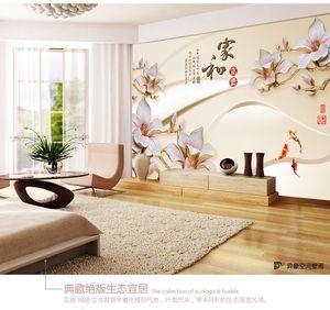 电视背景墙壁纸 span class=h>画 /span>3d立体客厅背影墙5d浮雕订制