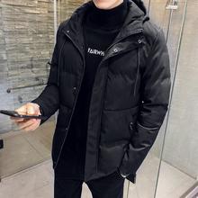 外套羽绒棉服冬季2018新款 修身 棉衣男士 加厚韩版 潮流连帽棉袄男装