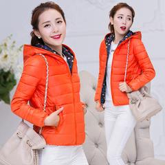 棉袄女2018新款韩版两面穿短款修身棉服轻薄秋冬季外套棉衣女装潮