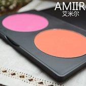 裸妆胭脂自然持久保湿 AMIIR艾米尔 腮红正品 修容防水双色专业彩妆