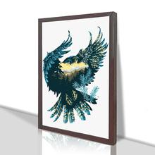 御梦diy数字油画客厅卧室动物挂画现代手工填色油彩画家居装 饰画
