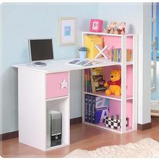 特价包邮简约时尚电脑桌台式桌家用书桌书柜组合 一体机电脑桌