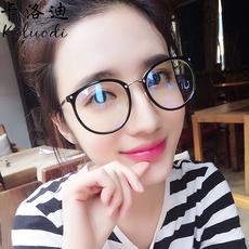 男女防辐射眼镜潮平面平光防蓝光电脑护目镜近视无度数护眼平光镜