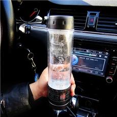 车载水杯加热电热杯烧水壶100度热水壶烧水杯12v烧开水通用多功能