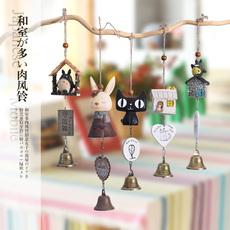 日式龙猫风铃挂饰创意女生卧室门饰儿童礼物清新可爱萌物铃铛挂件