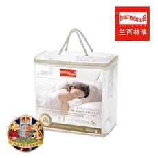 【超值换购-单拍不发货】斯林百兰羽丝绒床垫保护垫(数量:1张)