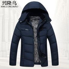 中老年男装中年男士棉衣父亲加厚休闲冬装外套老人大码棉袄爸爸装
