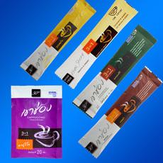 高崇泰国高盛卡布奇诺奶香拿铁摩卡原味奶香速溶咖啡组合101g品尝