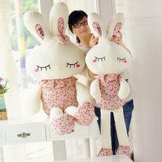 兔子毛绒玩具儿童生日礼物送女友布娃娃可爱长耳兔女生小白兔公仔